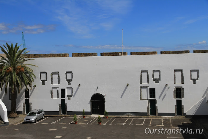 Форт Сан Брас - достопримечательности Понта Делгада