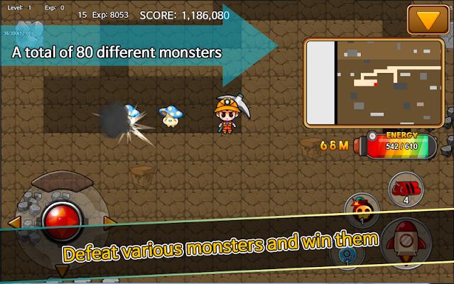 Digging Finding minerals - screenshot