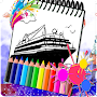 Coloring For Ship Sketch APK icon