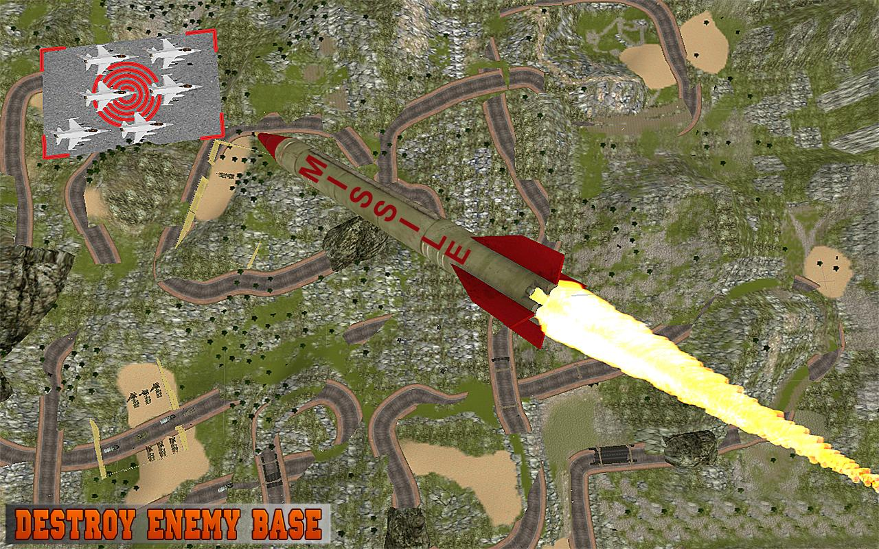 Missile Attack Army Truck 2017- screenshot