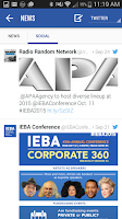 Screenshot of IEBA