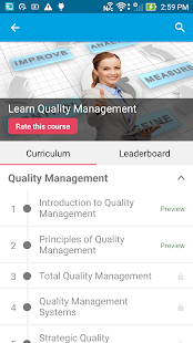 Learn Quality Management - náhled