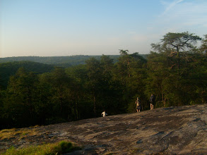 Photo: Flat Rock is another overlook located near Quarry Rock.