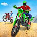 Bike Stunts 3D Racing Stunts Game Free Bike Games icon