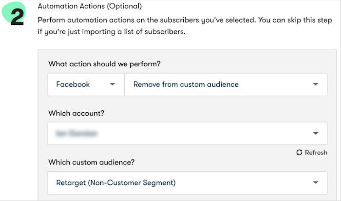 Facebook custom audiences in bulk operations
