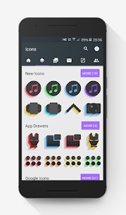 Silhouette Icon Pack- screenshot thumbnail