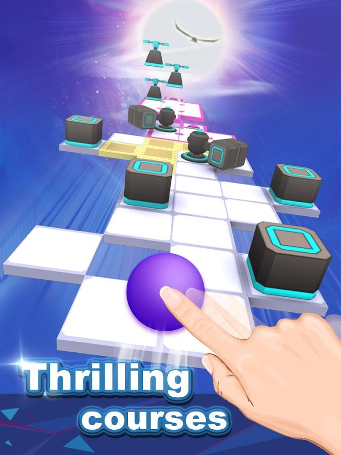 Screenshots of Rolling Sky for iPhone