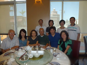 Photo: Lunch at Lunasia in Alhambra. Felix & Anna Leung, Abe & Lucy Cheng, Ah Mou & Carolyn, Sang Jig & Jane, Mike Ngan & Jeannie in August 2014