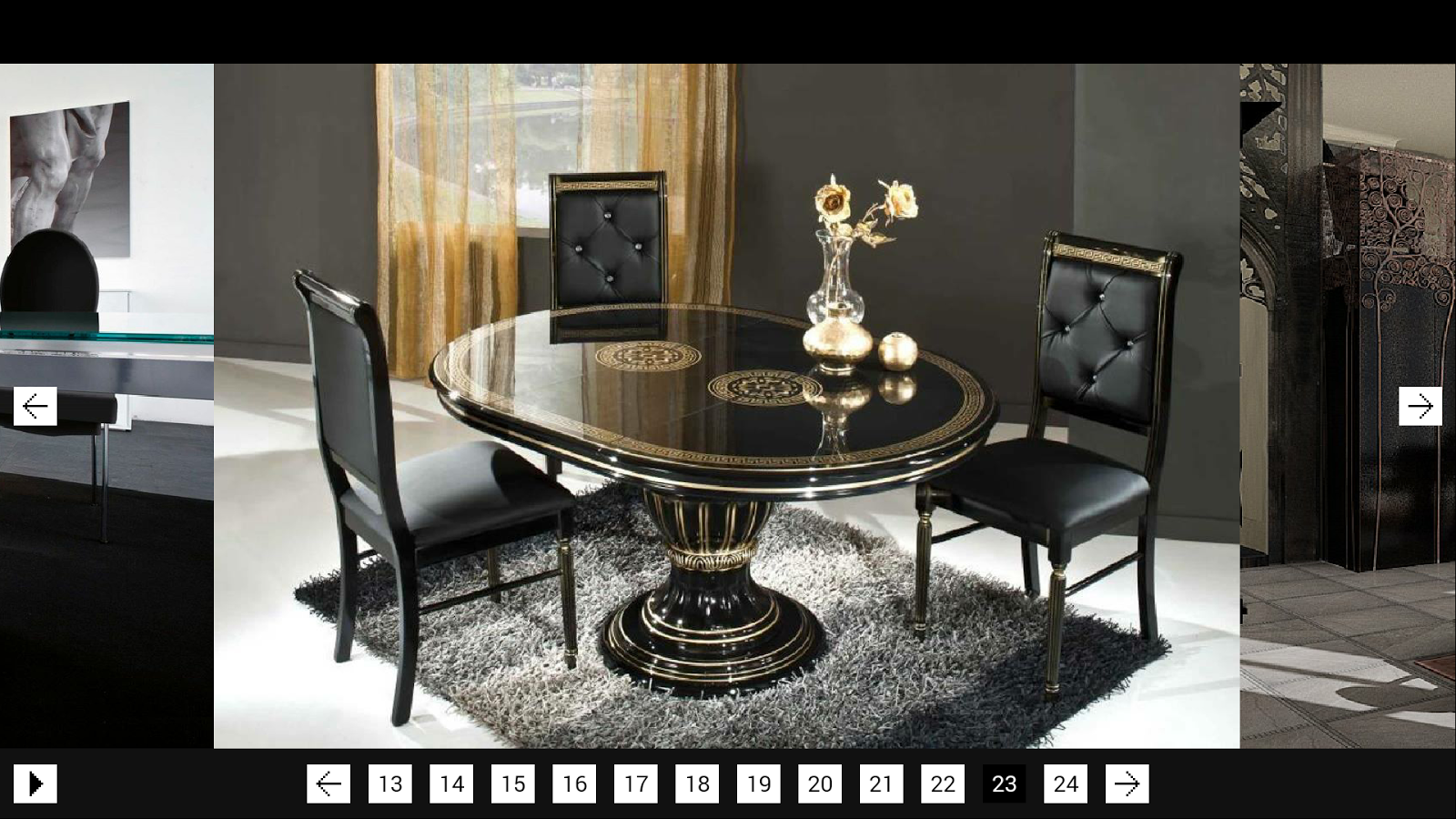 Dining room decor android apps on google play for Llwyn y brain dining room