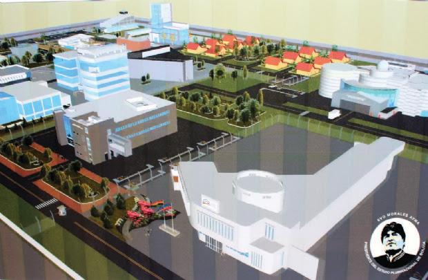 El Alto: Acuerdo sobre centro nuclear choca con un artículo de la CPE
