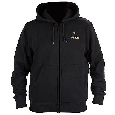 Куртка Worx WA4660 черная 2XL