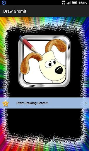 Draw Cartoon Gromit