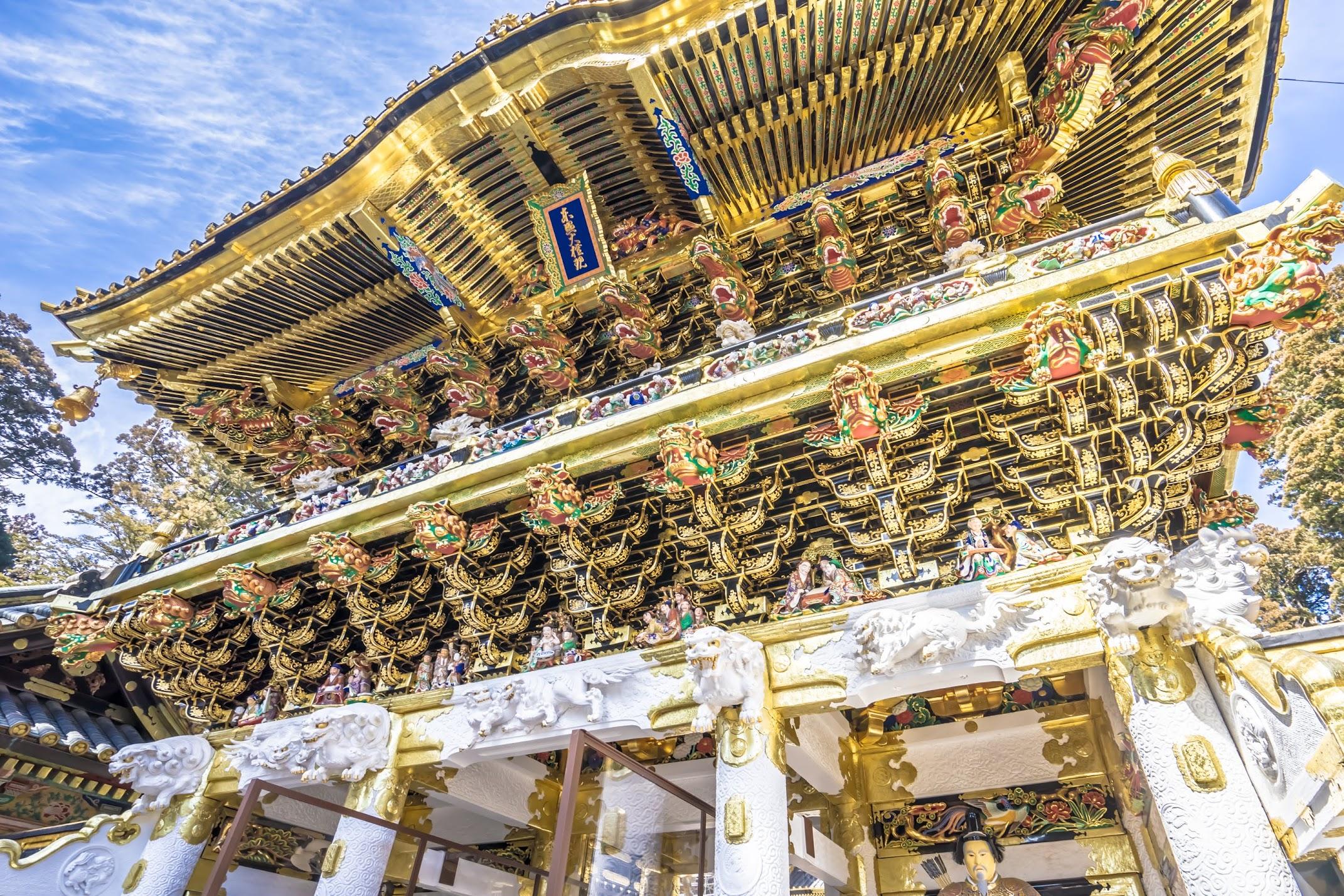 Nikko Toshogu Shrine Yomeimon Gate4