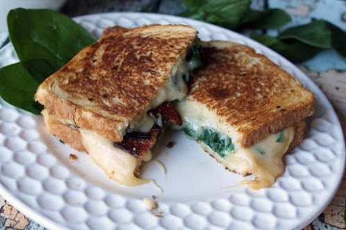 Recipe Here: The Ultimate Grilled Cheese