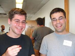 Photo: Greg and Chris