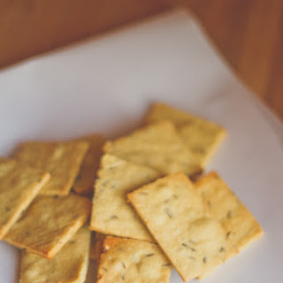 Chickpea and Caraway Crackers