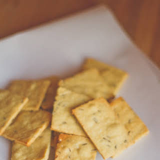 Chickpea and Caraway Crackers.