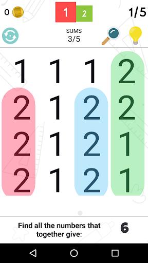 Word Search - Math screenshot 1