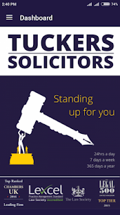 Tuckers Criminal Solicitors- screenshot thumbnail