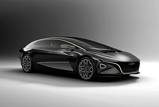 Aston Martin is turning Lagonda into an all-electric luxury brand, starting with this concept SUV.   Picture:  NEWSPRESS  UK