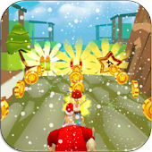 Boy Subway Surf Run Snow