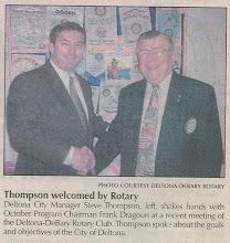 Photo: Steve Thompson with Frank Dragoun - November 13-15, 2006