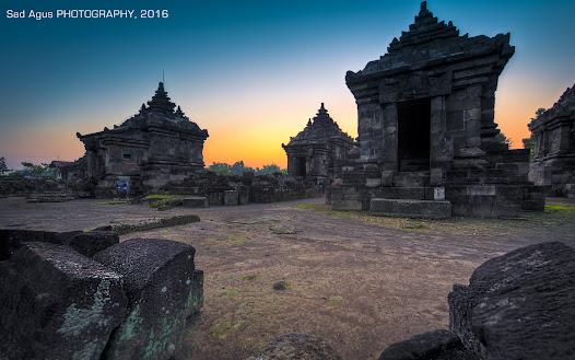 Temple Sunset