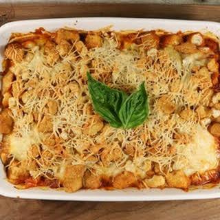 Easy Chicken Parmesan Casserole.