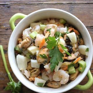 Italian Seafood Salad.