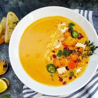 Low-Carb Cauliflower Curry Soup Recipe