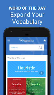 Dictionary.com Find Definitions for English v7.5.41 Pro APK 3