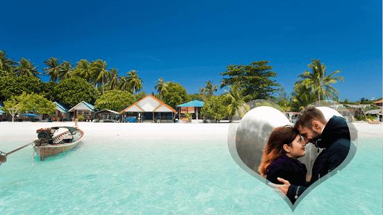 Honeymoon GIF Photo Frame - náhled