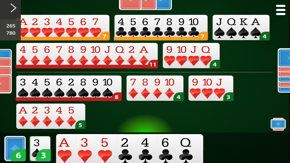 Canasta Online- screenshot