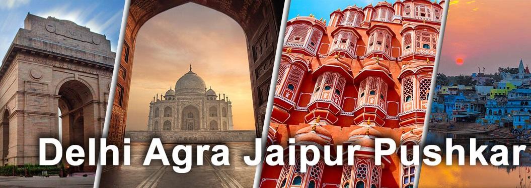 Luxury India Tour with Delhi, Agra, Jaipur, and Pushkar