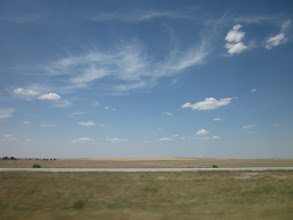 Photo: Good by Denver! I took picture toward US36 east from I-70. My friend will ride Last Chance this year.