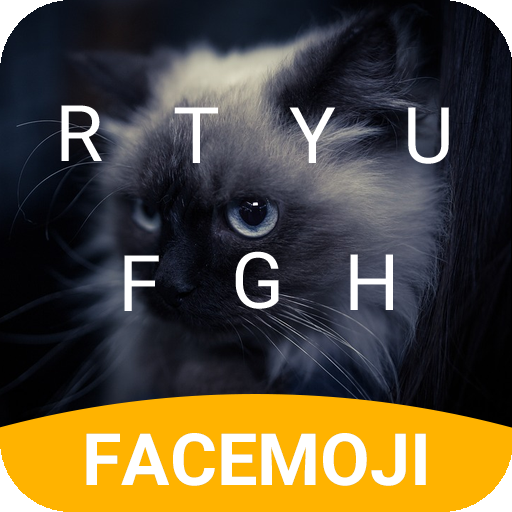 Fluffy Cat Keyboard Theme for Snapchat