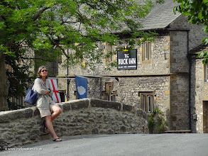 Photo: Chilling out in Malham