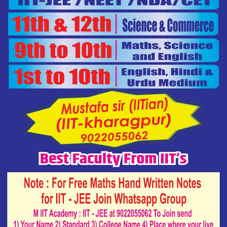 M IIT Academy - Coaching Center in Mumbai