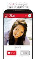 Screenshot of Blushr: Secret Teenage Crushes