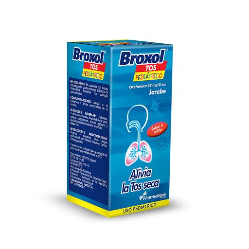 oxolamina broxol tos jarabe ped 120ml la sante