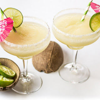 Frozen Coconut Margaritas.