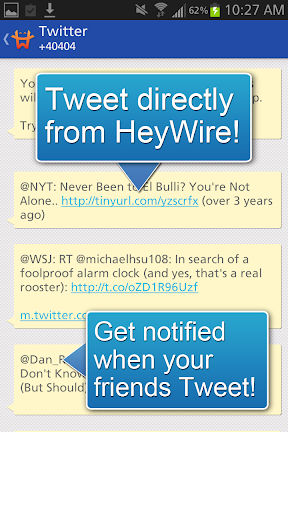 GoHeyWire Text FREE Texting screenshot 9