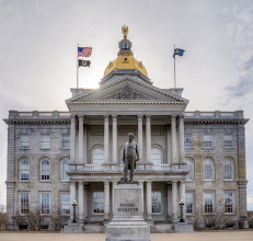 Photo: Statue of Daniel Webster on the NH State House lawn in Concord, NH  #historythursday +History Thursday curator: +Matt Shalvatis