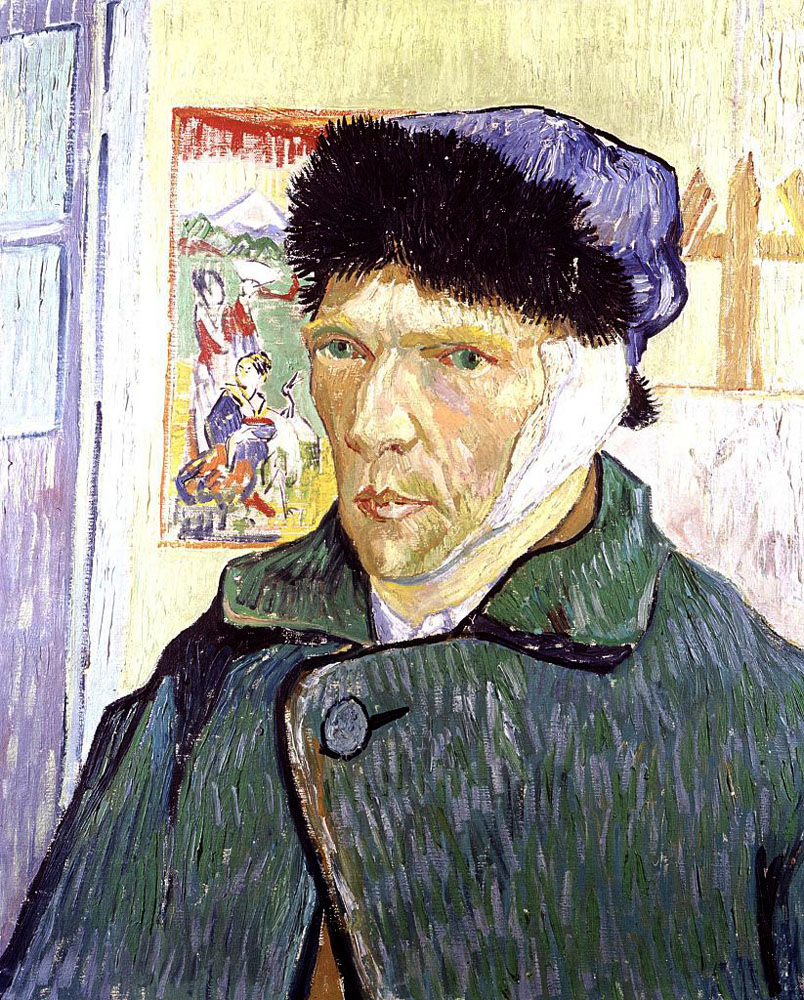 Two German historians claim that painter Vincent van Gogh lost his ear in a fight with his friend, the French artist Paul Gauguin.