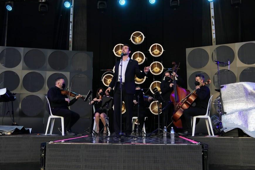 El tenor Juan de Dios Mateos sobre el escenario del Marble Music Fest