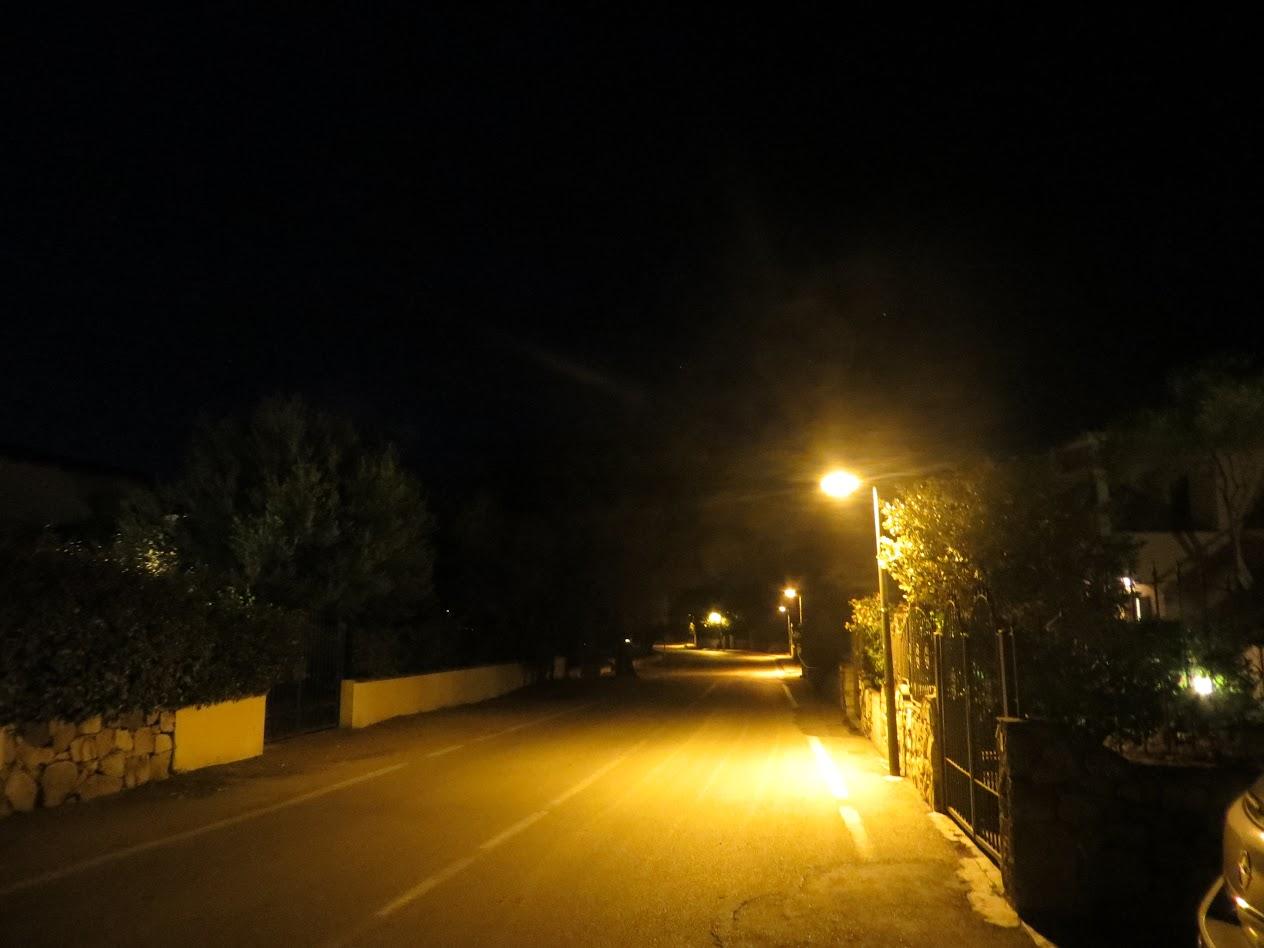 Вечер в Сан Теодоро. Улочка