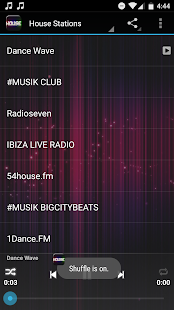 House Music Radio- screenshot thumbnail