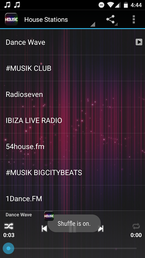 House Music Radio- screenshot