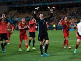 Thibaut Courtois félicite les Red Lions et son alter ego Vincent Vanasch