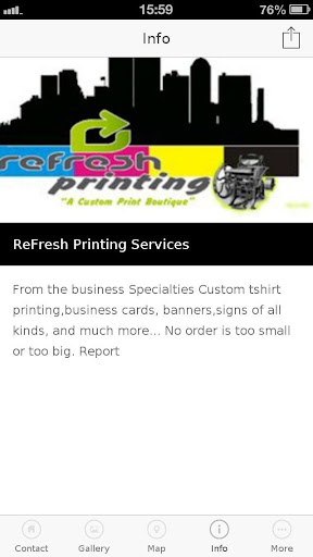 ReFresh Printing Services